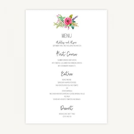 Wedding Invitation Template C1