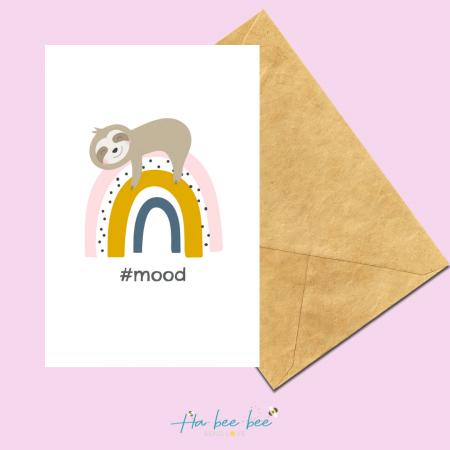 #Mood Sloth - Portrait