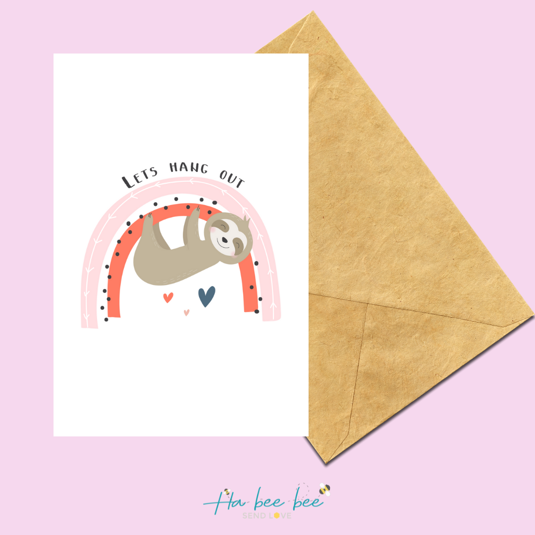 Let's hang out - Sloth