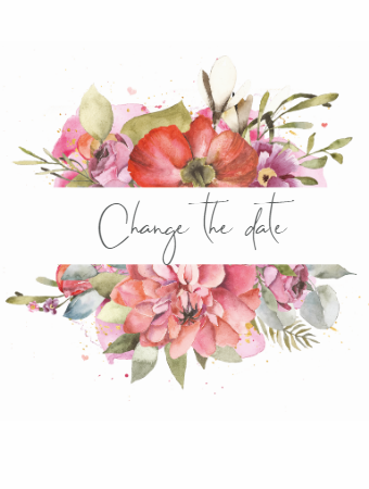 Classic Floral - Change the date
