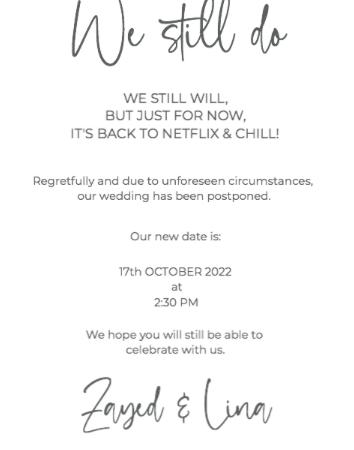 We still do - Change the date