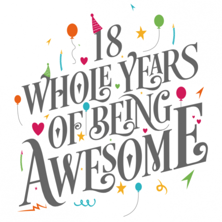 18 Years of Awesome