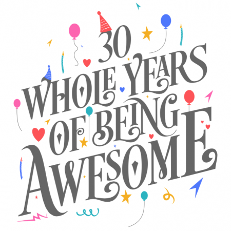 30 Years of Awesome