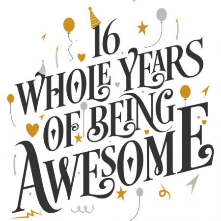 16 Years of Awesome
