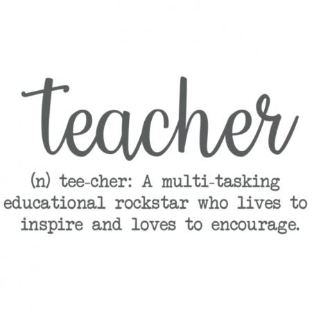 Teacher - Definition