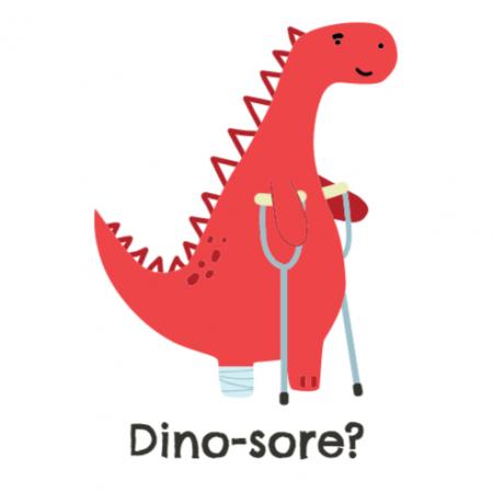 Dino-sore?