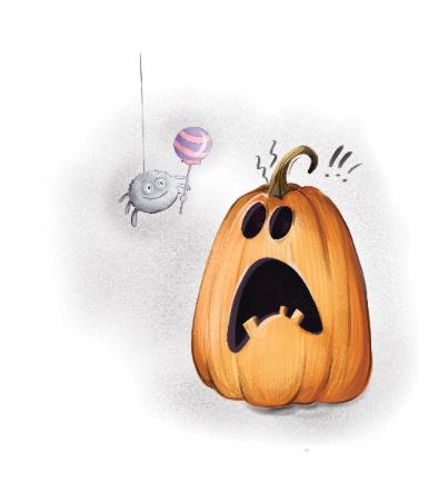 Spider & Pumpkin