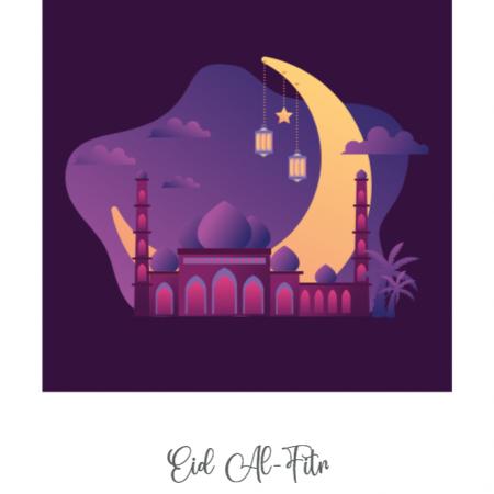 Purple Arabic Scene