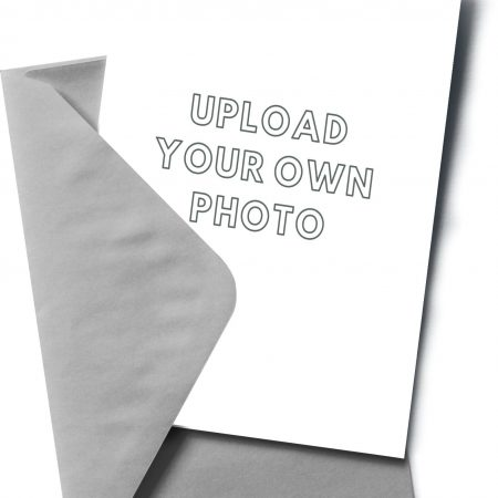Upload your own photo - White Cover