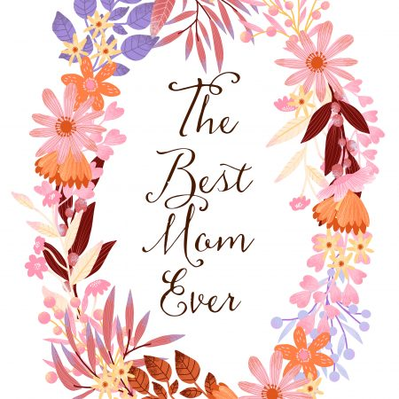 The Best Mom Ever - Wreath