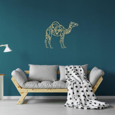 Gold - Laser Cut Camel