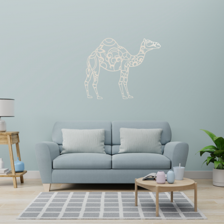 Silver - Laser Cut Camel