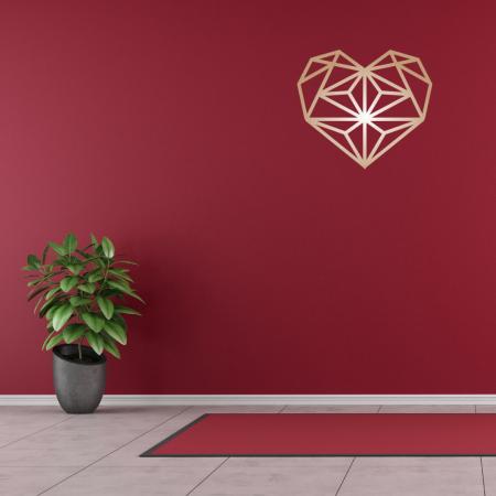 Bronze - Laser Cut Heart