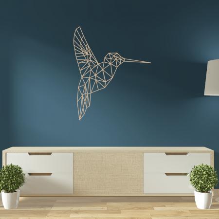 Bronze - Laser Cut Hummingbird