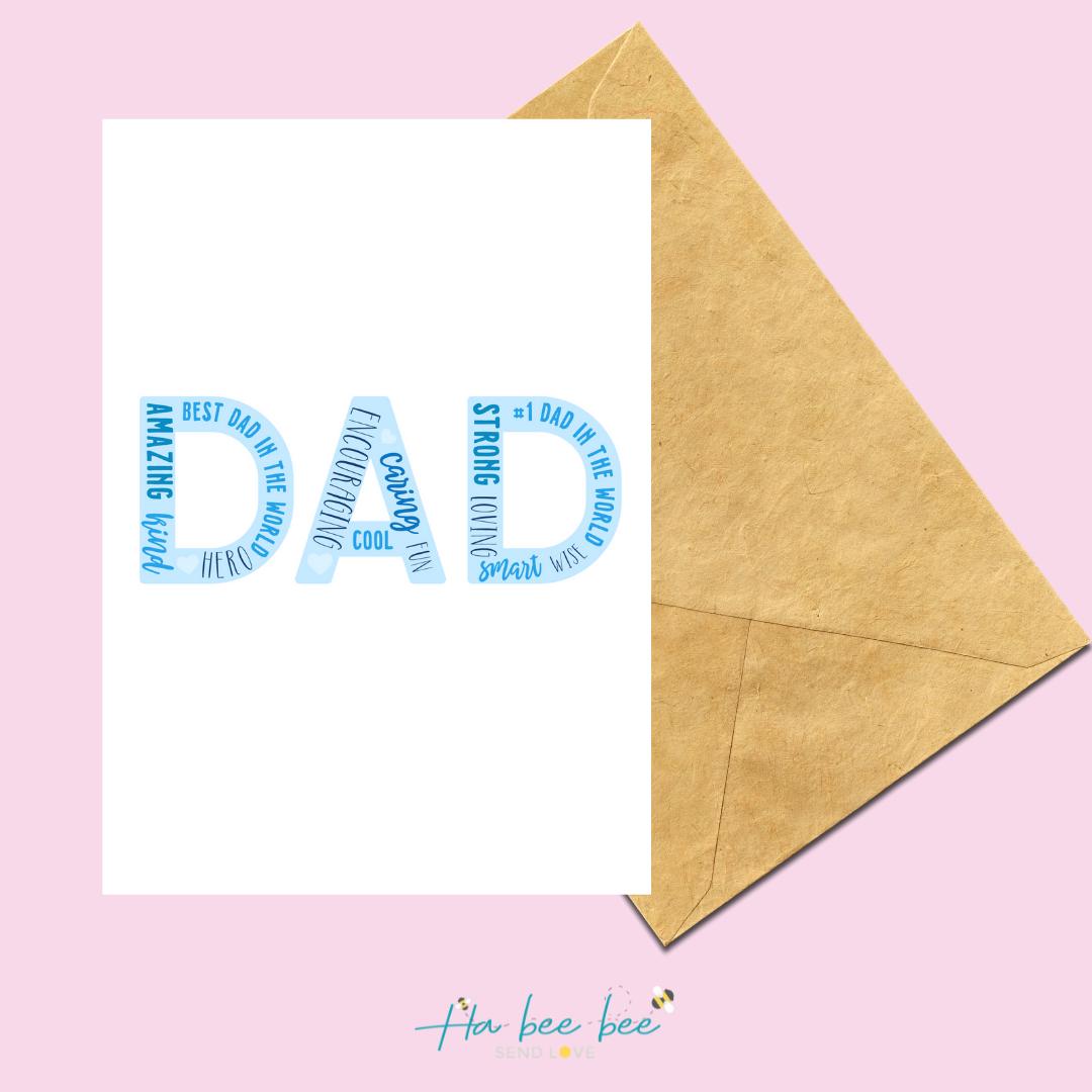 Dad - Word Art